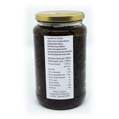 schwarze Trüffelsauce 500 gr